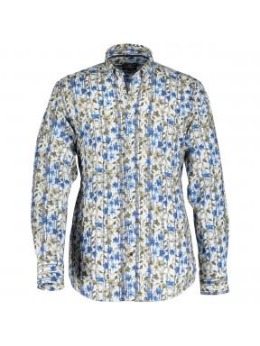 Overhemd-met-een-bladprint