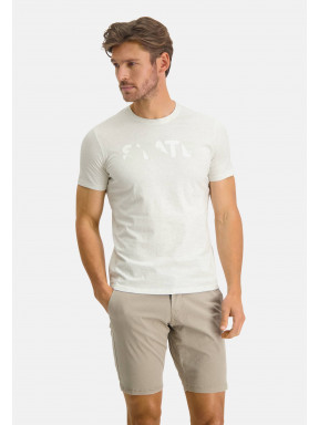 T-shirt-encolure-ronde-uni---greige-uni