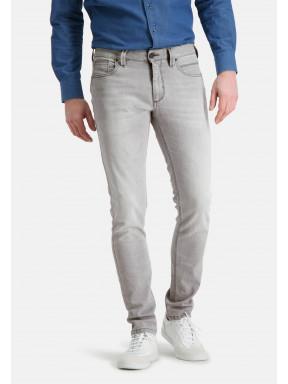 5-Pocket-stretchjeans---zilvergrijs-uni