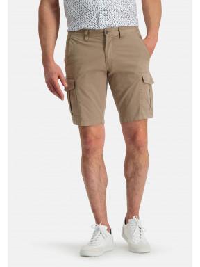 Short-in-cargolook---groenbruin-uni