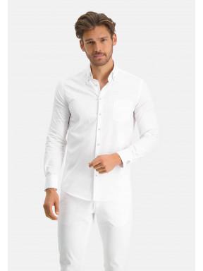 Modern-Classics-overhemd-met-modern-fit---wit-uni