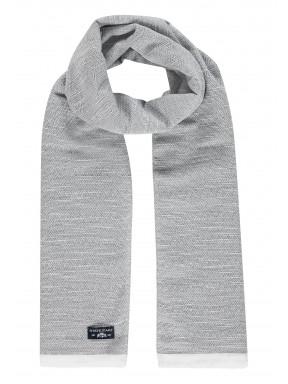 Sjaal-met-printdessin---wit/wit-grijs