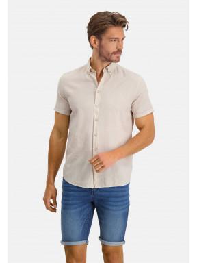 Overhemd-van-een-linnen-mix---kit-uni