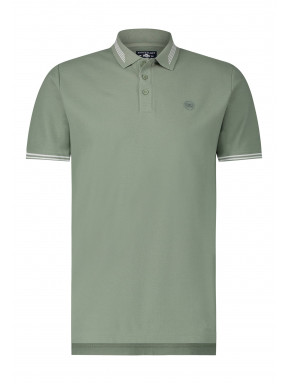 Polo-met-regular-fit-en-borstlogo