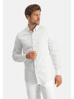 Modern-Classics-overhemd-met-fijne-print