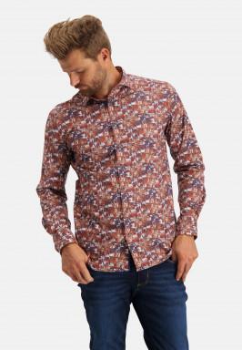 Poplin-overhemd-met-botanische-print