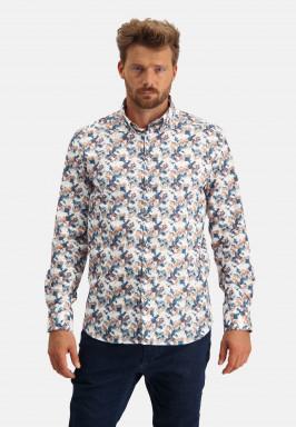 Overhemd-van-katoen-met-stretch