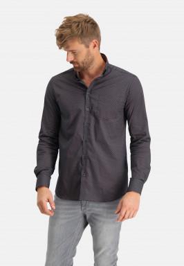 Regular-fit-overhemd-met-borstzak