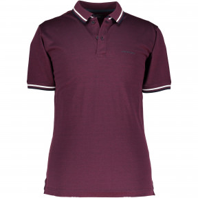 Tweekleurig-poloshirt-met-regular-fit