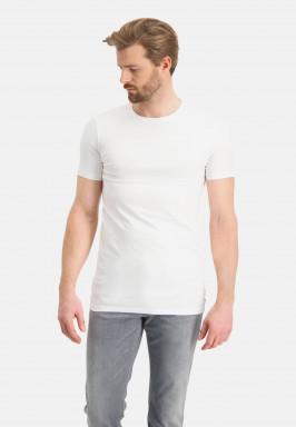 T-shirt-met-ronde-hals-extra-lang