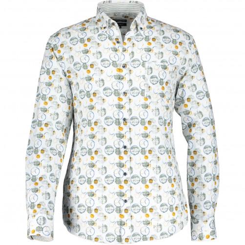 Stretch-overhemd-met-katoen