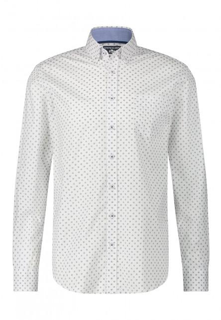 Chemise-à-poche-poitrine-et-regular-fit