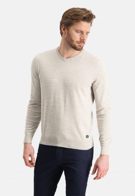 Pull-en-coton-mouline---grège/gris-claire
