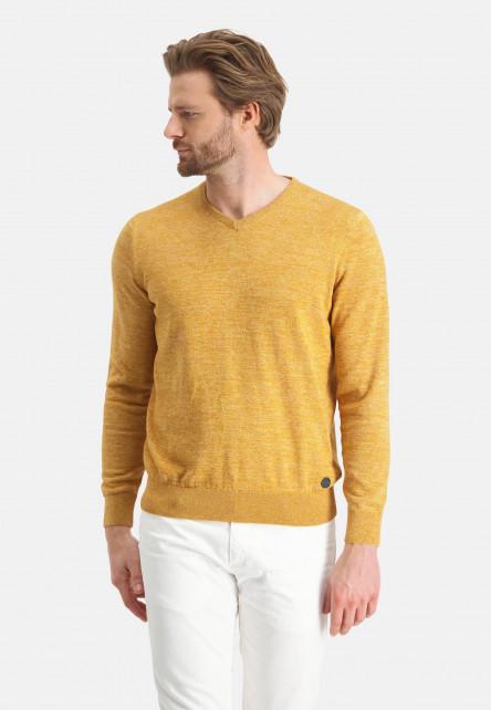 Pull-en-coton-mouline---mango/beige