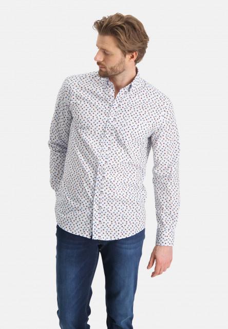 Chemise-à-poche-poitrine---brique/sablé