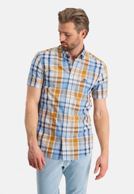 Chemise-à-carreaux---mango/cobalt