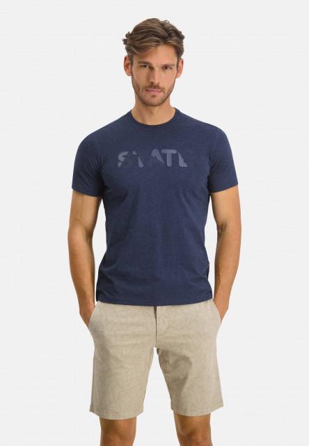 T-shirt-encolure-ronde-uni---blue-foncé-uni