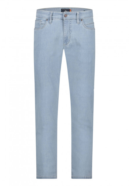 5-Pocket-jean-stretch---bleu-uni