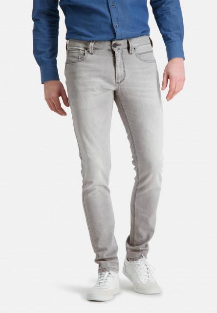 5-Pocket-jean-stretch---gris-argenté-monochrome