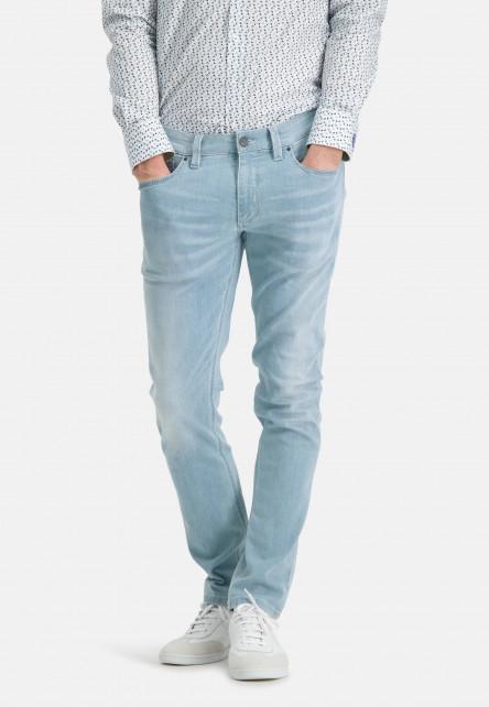 5-Pocket-jean-stretch-à-modern-fit---bleu-uni