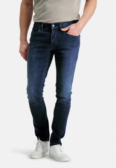 5-Pocket-jean-stretch-à-modern-fit---cobalt-uni