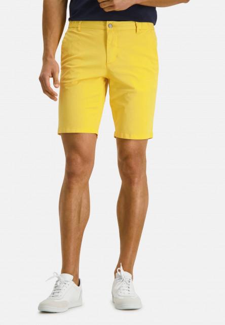 Short-de-style-chino---jaune-clairuni