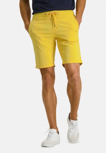 Bermuda-uni---jaune-clairuni