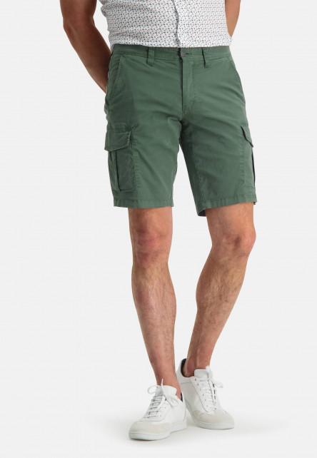 Short-de-style-cargo---vert-foncé-monochrome
