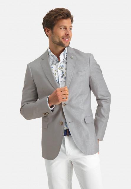 Modern-Classics-blazer-en-lin-mélangé---gris-clair-monochrome