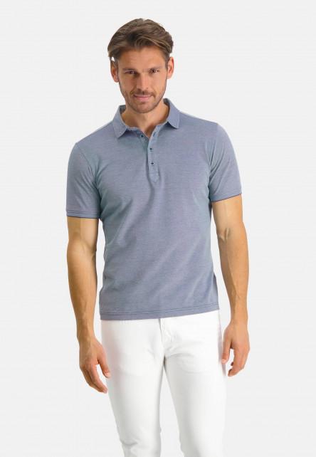 Modern-Classics-polo-á-manches-courtes---cobalt/blanc