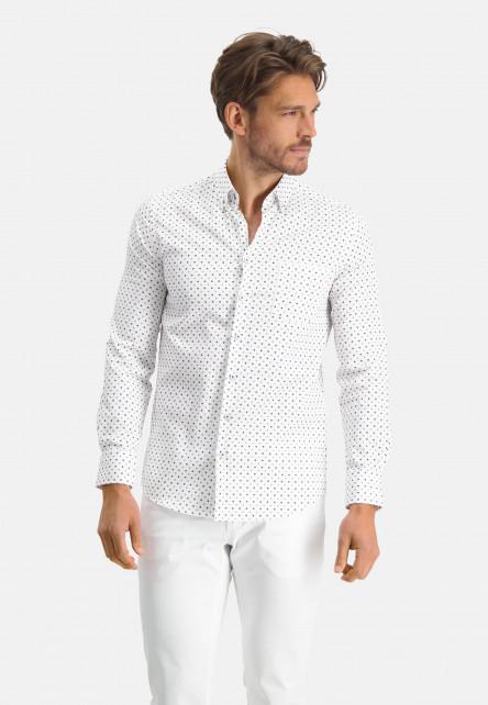 Modern-Classics-chemise-à-modern-fit---blue-foncé/chlorophylle