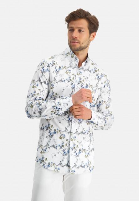 Modern-Classics-chemise-à-imprimé---bleu-claire/cobalt
