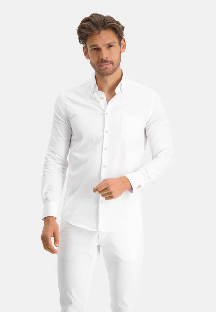 Modern-Classics-chemise-á-modern-fit---blanc-uni