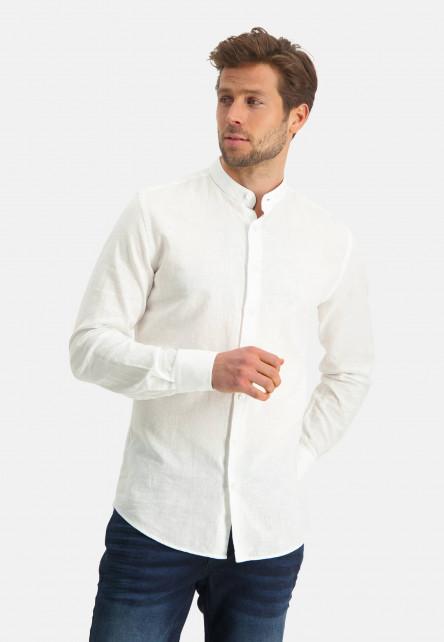 Modern-Classics-chemise-en-lin-mélangé---blanc-uni