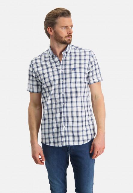 Chemise-à-carreaux-en-coton