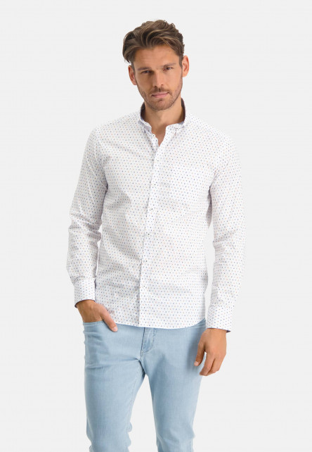 Katoenen-overhemd-met-regular-fit