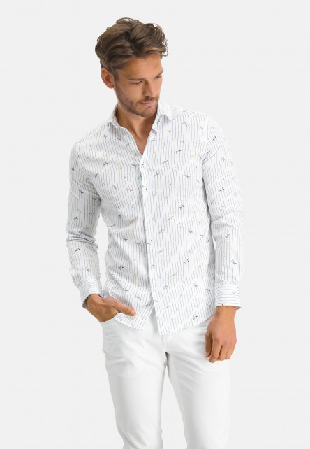 Modern-Classics-chemise-à-imprimé-libellule