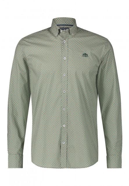 Chemise-à-imprimé-en-coton-stretch