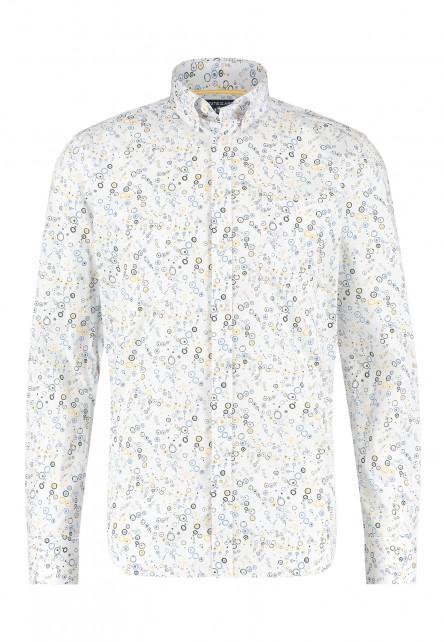 Regular-fit-overhemd-met-een-all-over-print