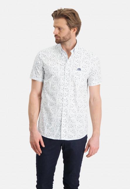 Chemise-à-imprimé-et-col-boutonné