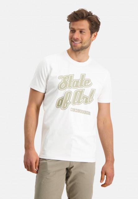 T-shirt-á-encolure-ronde