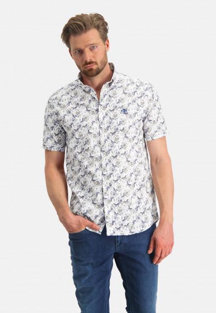 Button-down-overhemd-met-vlinderprint