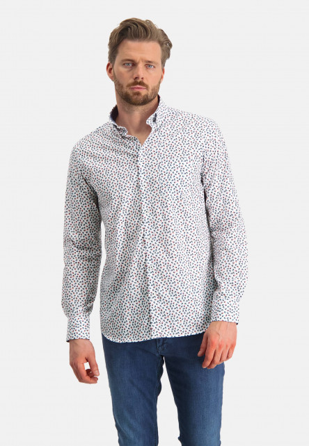 Overhemd-met-een-all-over-print