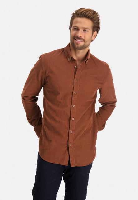 Chemise-côtelé-à-regular-fit