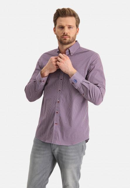 Chemise-à-imprimé-à-poche-pointrine