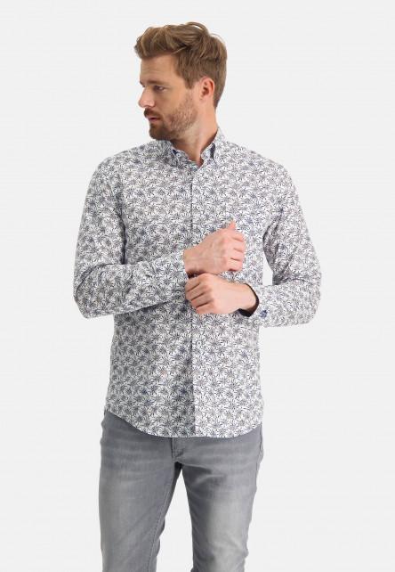 Chemise-à-imprimé