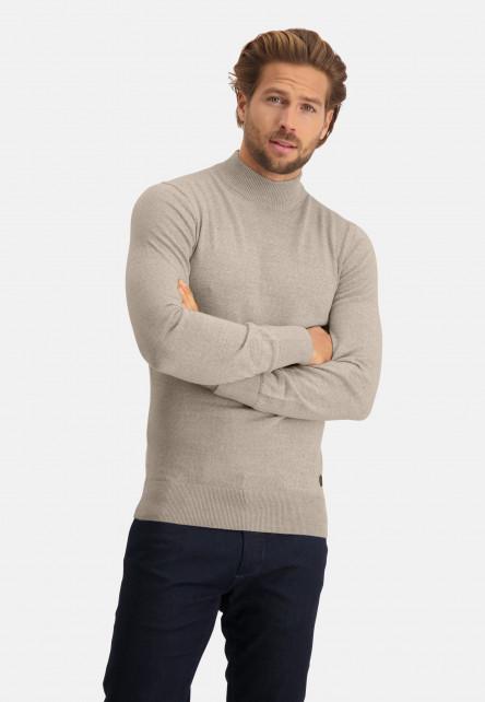 Pull-tricot-fin-à-col-roulé