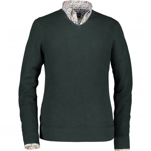 Pull-tricot-structure-et-fin