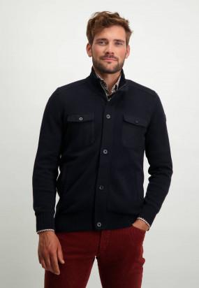 Vest-met-klepzakken---donkerblauw-uni