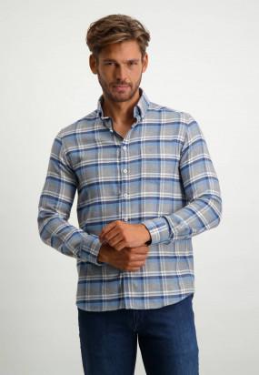 Chemise-à-carreaux---blue-foncé/cobalt